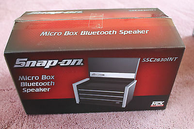 MTX Audio Snap-On Micro Tool Box Bluetooth Speaker SSX2830