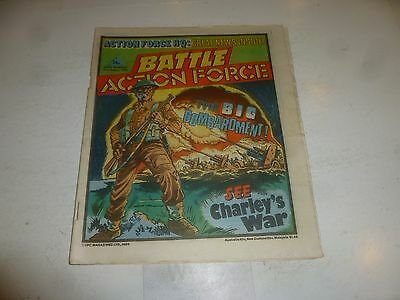BATTLE ACTION FORCE Comic - Date 31/08/1985 - UK Paper Comic
