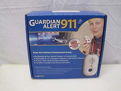 Guardian Alert 911 Model 30511 LogicMark Used - Tested - No Monthly Fees! B6681