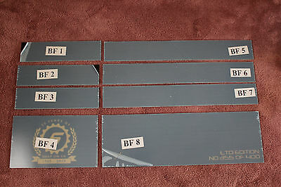 "Snap on Limited Edition 40"" Tool Box Roll Cab Graphics Plates Decals"