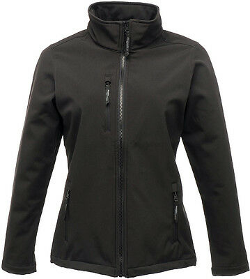 Regatta Octagon Ladies Softshell Jacket - Black