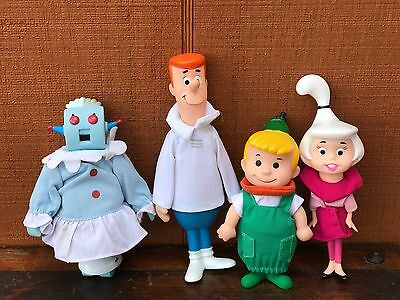 Vintage Hanna Barbera 1990 The Jetsons Family Doll Set by Applause 9.5""