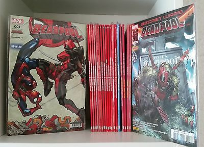Set Complet 21 Comics VF Marvel / All New Deadpool + HS + Secret Wars Deadpool !