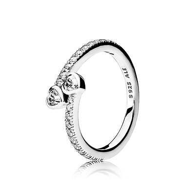 New Pandora S925 ALE Forever Hearts Ring size: 50, 52, 54, 56, 58