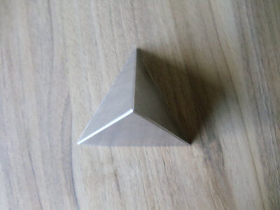 Orgone Aluminium Resin Casting Tetrahedron Pyramid Mold / Mould - 120mm Base