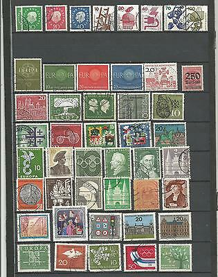 All 2 -- TP-lot d' anciens timbres allemand