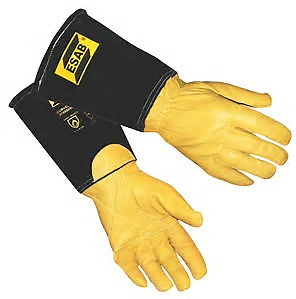 ESAB Curved Tig Welding Gloves - Size 10/XL 0700005042