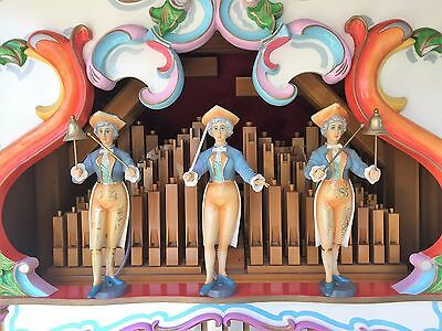 Fairground organ D R Leach - fully working with trailer and music sheets all in