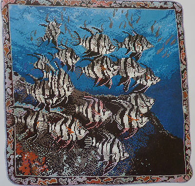 Tapestry Chart - Shoal of Angel Fish in the Sea from Jill Gordon
