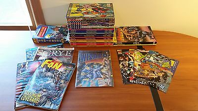 Huge Lot of Comic Book Prices Guides - Wizard Magazine Overstreet Hero Fan & #1