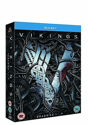 Vikings Komplette Season 1 + 2 + 3 + 4 [Blu-ray] *NEU* / Staffel Series 1-4