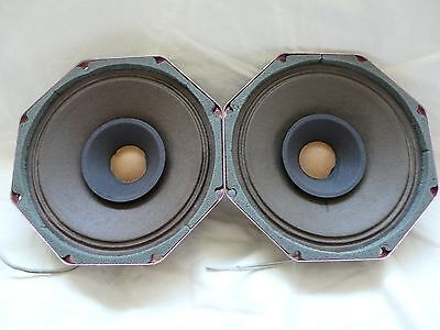 2 matched Philips AD7061/M4 4 Ohm full range whizzer cone driver excellent!