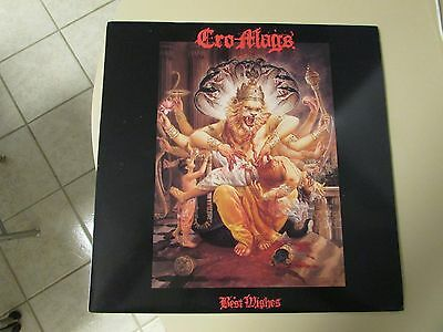 Original Extremely RaRe 1989 CRO-MAGS Best Wishes LP