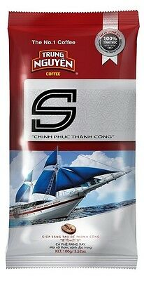 4 Packs x 500g = 2 kg Vietnamese Roasted Ground Coffee - Trung Nguyen Special