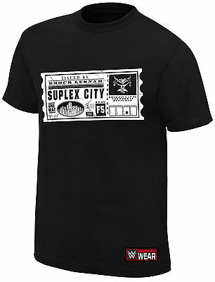 Brock Lesnar Suplex City One Way Ticket T Shirt
