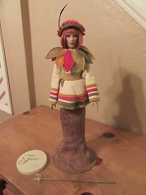 HELEN KISH Seasons Doll Facets Of Eternal Feminine Collection Autumn Electra Red
