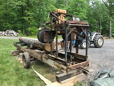 Band Saw Mill, Sawmill, Lumber mill Home Built, Portable, Electric Start Engine