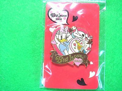 The Disney Store Pins 2008 Big Love Donald & Daisyl From Japan /EP004