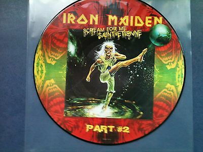 Iron Maiden - Scream For Me Sant Etienne - Picture LP  /  ABSOLUTE  RARITÄT  !!!