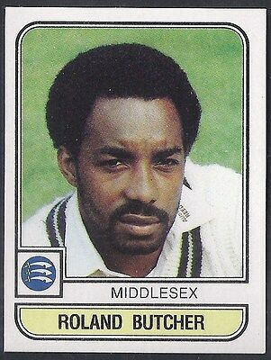 Panini-Cricket 83-#122- Middlesex - Roland Butcher