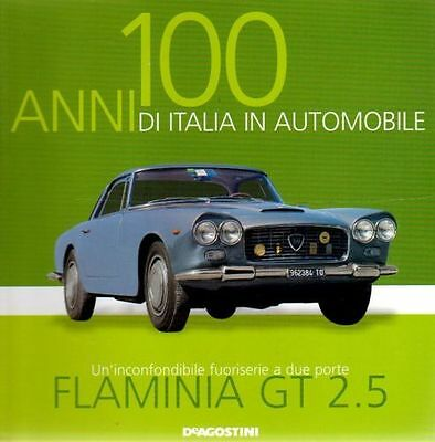 Booklet LANCIA FLAMINIA GT 2.5 rare 30 PAGES