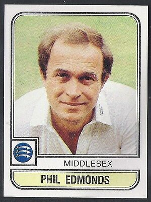 Panini-Cricket 83-#125- Middlesex - Phil Edmonds
