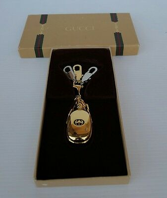 Gucci Portachiavi 3552 Key Ring Parfume Mini Bottle Charm Unisex Made In Italy