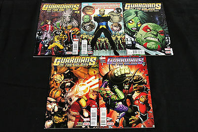 Marvel Guardians Of The Galaxy 1-5 (9.2) 2015