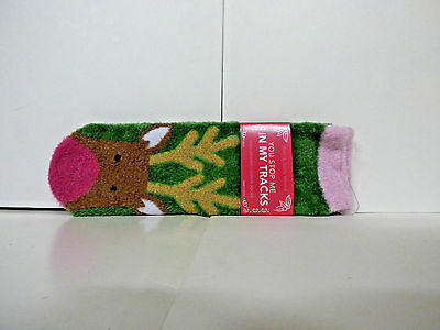 Bath & Body Works Shea Infused Lounge Socks YOU STOP ME IN MY TRACKS NWT