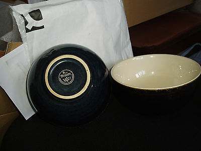 BHS Brecon blue pattern cereal bowls / pasta dishes or dessert dishes  x 2  vgc