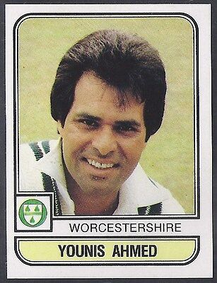 Panini-Cricket 83-#228- Worcestershire - Younis Ahmed