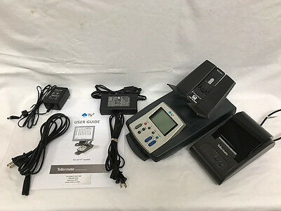 Tellermate TY+ Money Counter with Bixolon STP-103G Thermal Printer w/ Adapters