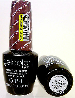 Gelcolor-Soak Off Gel Nail Polish-opi YOU DON'T KNOW JACQUES GC F15 - 0.5oz/15ml