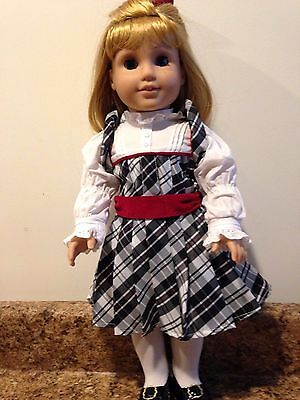 Retired American Girl Nellie Doll, Accessories, And Holiday Outfit And More