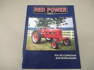 International Harvester Red Power Magazine Vol.17,No.4 Nov-Dec. 2002 Edition