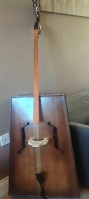 "Ikh Khuur- Bass ""Horse Head Fiddle"" (like Morin Khuur) - 2 String Mongolian Bass"