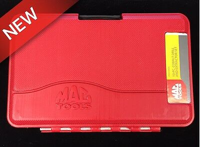 Mac Tools 10-Pc. Cobalt Drill And Extractor Set M#spex10Mds *free Fast Shipping*