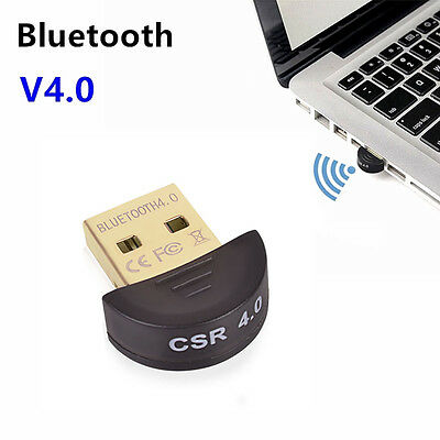 Mode Laptop PC Dongle Music Sound Receiver USB Bluetooth V4.0 Wireless Adapter