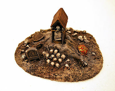 Forge World Warhammer Fantasy Scenery Loose Roadside Shrine OOP Pro Painted