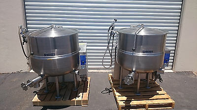Cleveland Steam-Jacketed 60 Gallon Kettle in Natural Gas Model KGL-60