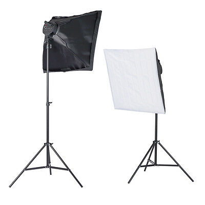 Photo Studio Video photography light box Continuous Lighting Softbox Kit 2000W