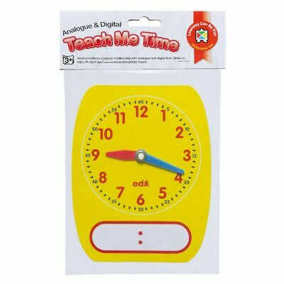 Learning Can be Fun Teach Me Time Analogue Digital Clock