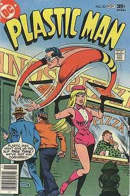 Plastic Man (1966 series) #20 in Very Fine condition. FREE bag/board