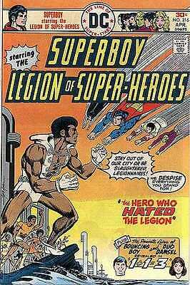 Superboy (1949 series) #216 in Very Fine condition. FREE bag/board