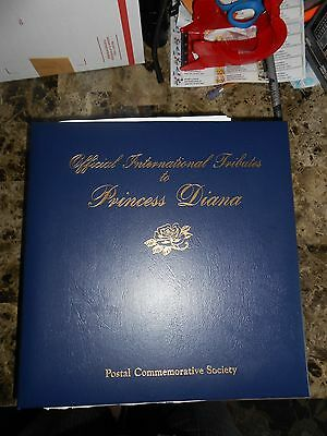 Princess Diana Complete Commemorative Stamps Collection 1997-1998/ Album New