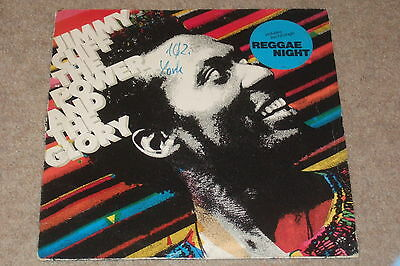 Jimmy Cliff – The Power And The Glory LP   1983    REGGAE!!