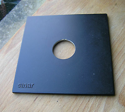 genuine Sinar F & P  lens board panel with copal 0 hole  34.6mm