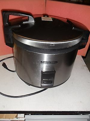 Proctor Silex Commercial Rice Cooker/Warmer, 30 Cup, 1500W