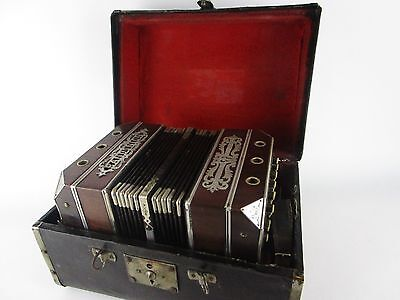 Carl Foerster & Sons Milwaukee WI Bandonion Bandoneon 1909 - 1920's Accordion