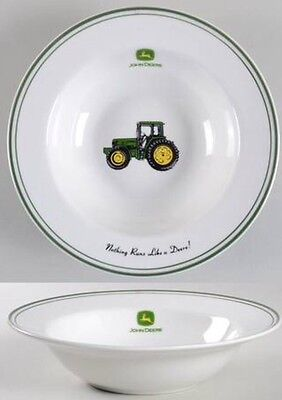 "John Deere Vegetable Serving Bowl - Gibson - 9-1/4"" x 2-1/2""H EUC"